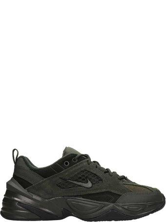 Nike Green Fabric M2k Tekno Sp Sneakers