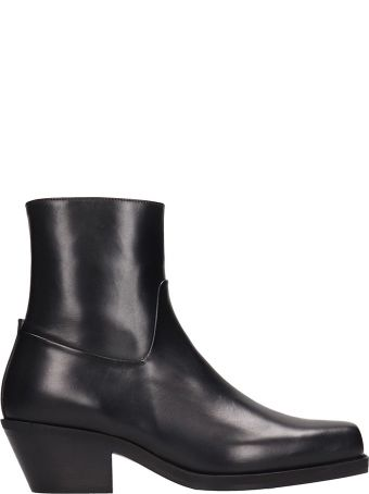 MISBHV Iggy Black Leather Boots