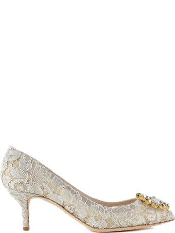 Dolce & Gabbana Lace Charmant Pumps