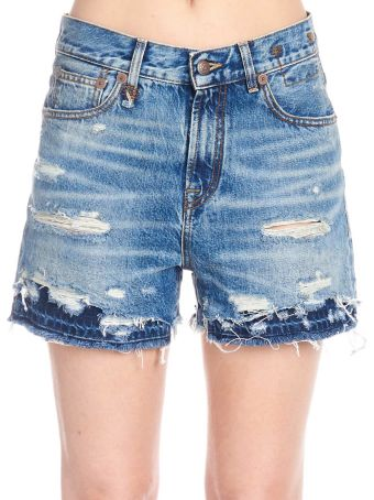 R13 'double Hem' Shorts