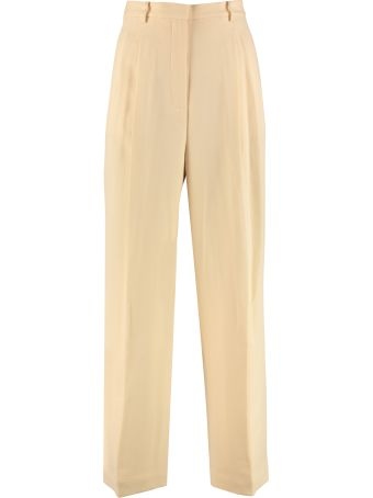 Tory Burch Crepe Wide-leg Trousers