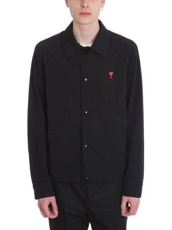 Ami Alexandre Mattiussi Black Nylon Jacket