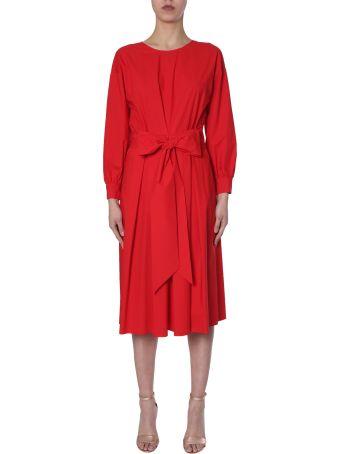 Boutique Moschino Bow-waist Dress