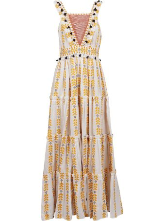 Dodo Bar Or Alicia Embroidered Dress
