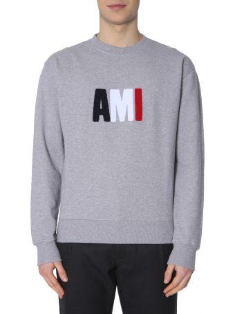 Ami Alexandre Mattiussi Crew Neck Sweatshirt