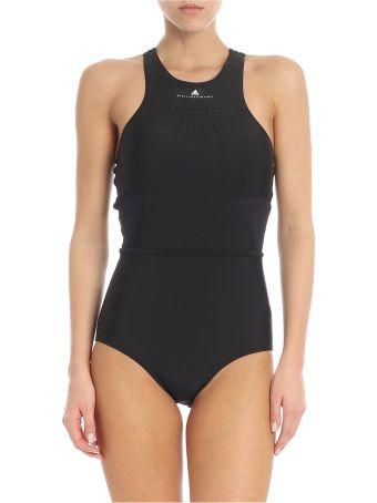 Adidas by Stella McCartney Logo Print Swimsuit
