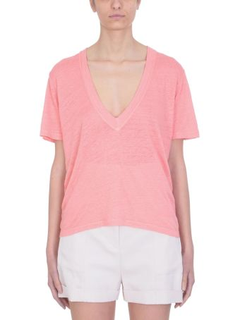 IRO Jahal Linen And Cotton T-shirt