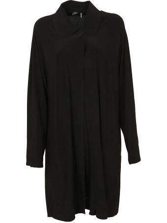 Norma Kamali Oversized Collar Dress