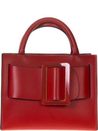 BOYY Bobby 23 Red Leather Tote Bag