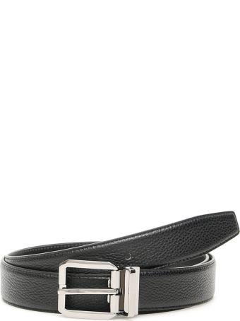 Dolce & Gabbana Grain Leather Belt