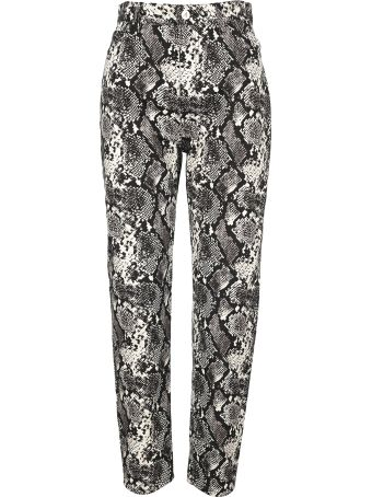 The Attico Attico Sneak Print Trousers