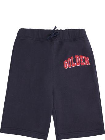 Golden Goose Golden Printed Cotton Shorts