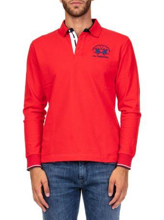 La Martina Heavy Jersey Cotton Polo Shirt