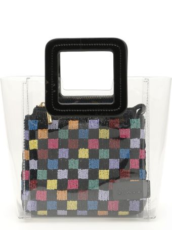 STAUD Beaded Mini Shirley Bag