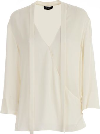 Theory Satin Top