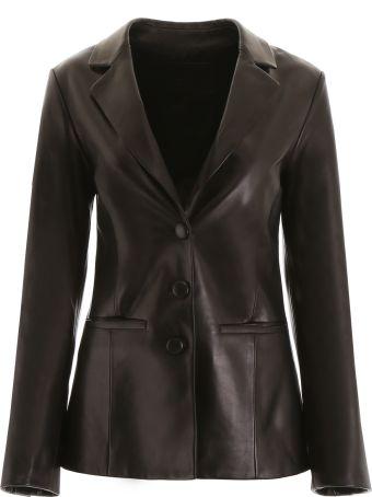 DROMe Leather Blazer