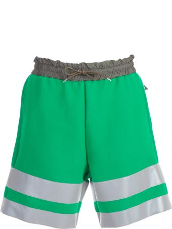 Sacai Color-block Shorts
