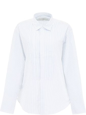 Golden Goose Striped Shirt With Plastron