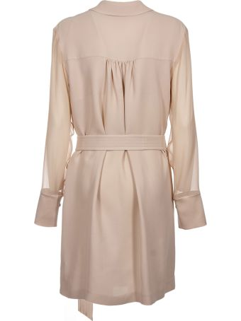 Max Mara Pianoforte Belted Long Coat