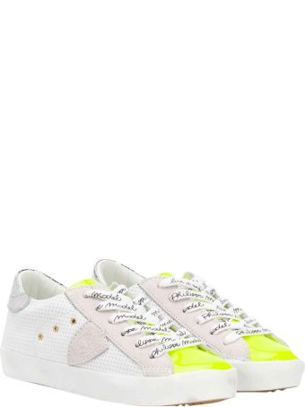 Philippe Model White Sneakers