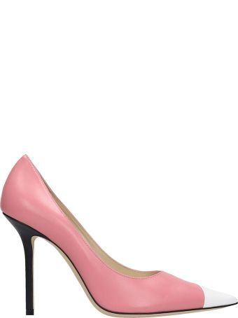 Jimmy Choo Love 100 Pumps In Rose-pink Leather