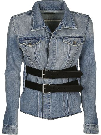 RTA Double Waisted Denim Jacket