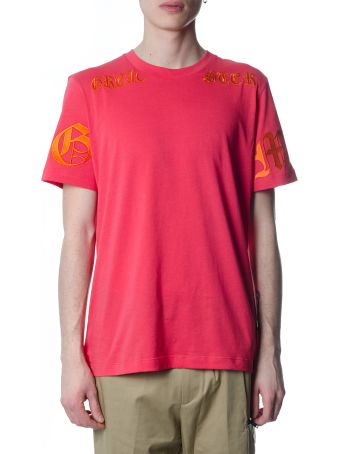 OMC Pink Cotton Branded T-shirt