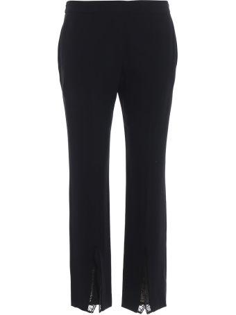 Alexander McQueen Front Split Trousers