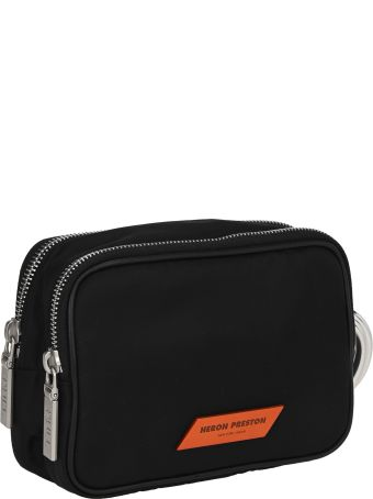 HERON PRESTON Logo Patch Clutch