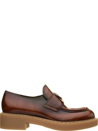 Prada Prada Faded Effect Loafer