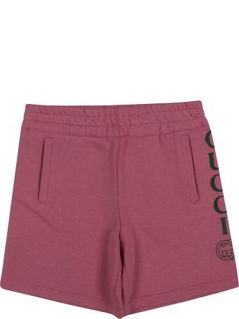 Gucci Kids Bermuda Logo Shorts