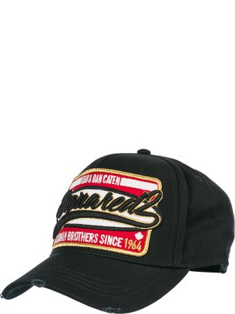 Dsquared2 Adjustable Cotton Hat Baseball Cap