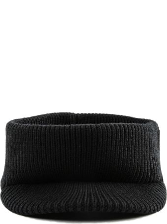 Prada Ribbed Visor Headband