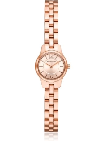 Michael Kors Petite Runway Rose Gold-tone Watch