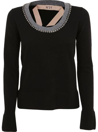 N.21 Embellished Sweater