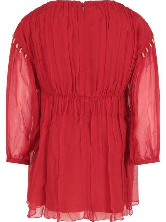 Chloé Red Dress For Girl
