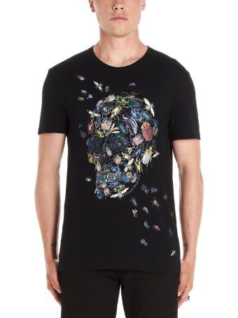 Alexander McQueen 'skull & Beatles' T-shirt