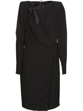Giorgio Armani Knot Detail Dress