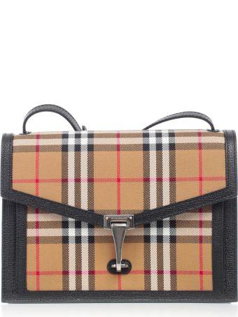 Burberry Small Checked Shoulder Bag