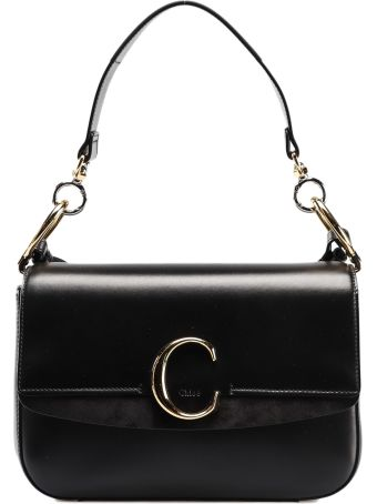 Chloé Chloe C Double Shoulder Bag