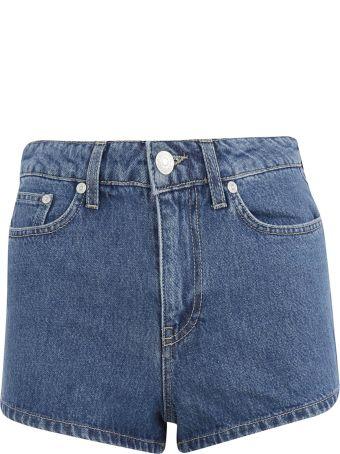 Chiara Ferragni Wink Eye Denim Shorts