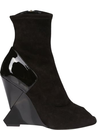 Lanvin Zipped Ankle Boots