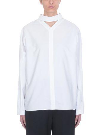 Jil Sander White Cotton Shirt
