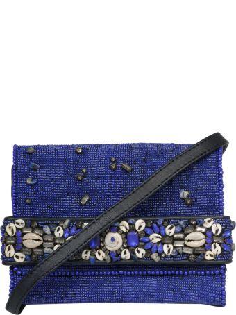 Malìparmi Maliparmi Embroidered Beads Shoulder Bag
