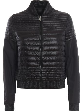 Colmar Black Quilted Puffer Jacket