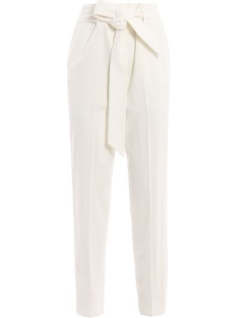 Ermanno Scervino Belted Tapered Trousers