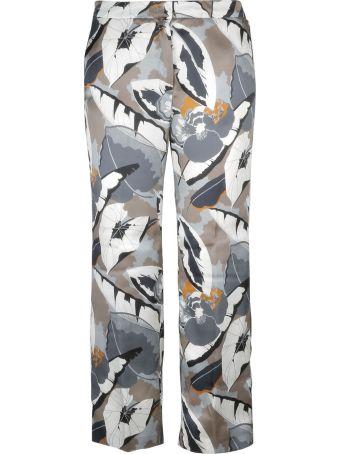 Fabiana Filippi Tropical Print Trousers