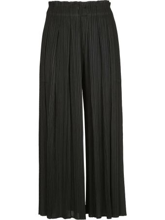 Issey Miyake Pleats Please By Issey Miyake Wide Leg Trousers