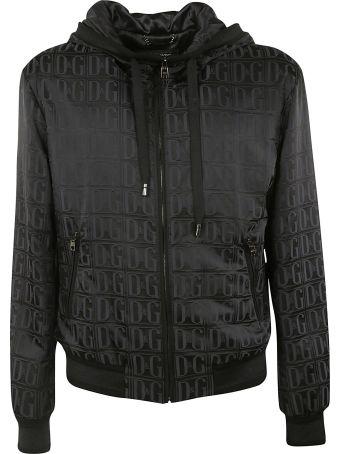 Dolce & Gabbana Zip-up Hooded Jacket