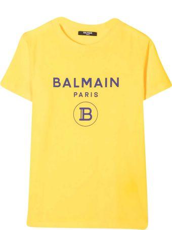 Balmain T-shirt Gialla